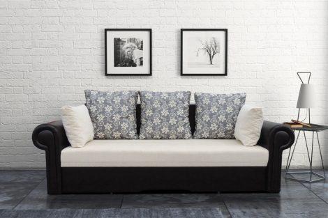 Szahara kanapé kerek karral