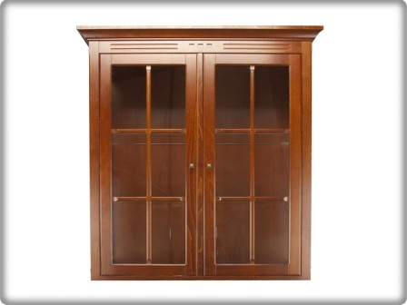 Concerto 5501 vitrin 2 ajtós felső