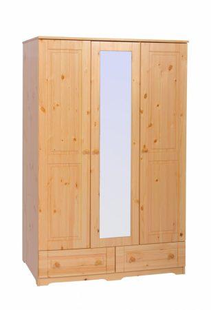 Balázs 3 ajtós 2 fiókos tükrös