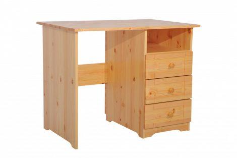 Martin 3 fiókos íróasztal 110