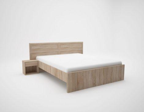 Bono ágykeret38; 18 mm laminált bútorlap oldalak és fejtámla ágyráccsal