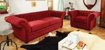 London-Chesterfield kanapé