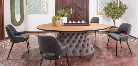 Oslo asztal  chester lábbal