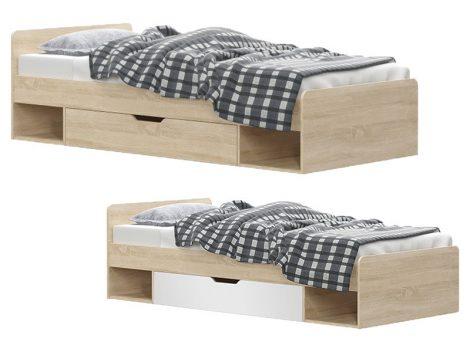 Teyo elemes Ifjúsági bútor gyerekágy ágyneműtartóval